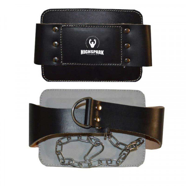 Weightlifting Leather Dip Belts